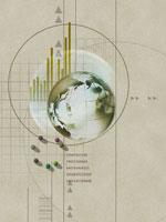 地球とビジネスイメージ