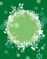 雪の結晶のリース