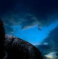 ティラノザウルスと飛行するとプテラノドン