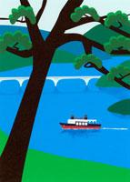 遊覧船 02369000057| 写真素材・ストックフォト・画像・イラスト素材|アマナイメージズ