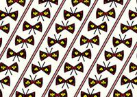 トランプ模様の蝶々