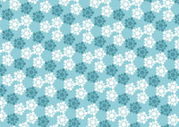 雪の結晶の紋様