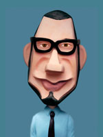 人物クラフト ヒゲとめがねの男性 02374000001| 写真素材・ストックフォト・画像・イラスト素材|アマナイメージズ