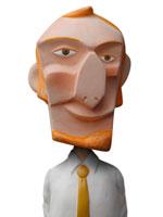 人物クラフト 男性 02374000062A| 写真素材・ストックフォト・画像・イラスト素材|アマナイメージズ