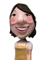 エプロン姿のママ 02374000109| 写真素材・ストックフォト・画像・イラスト素材|アマナイメージズ