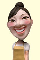 エプロン姿のママ 02374000142| 写真素材・ストックフォト・画像・イラスト素材|アマナイメージズ