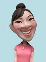 ポロシャツを着た女性 02374000143| 写真素材・ストックフォト・画像・イラスト素材|アマナイメージズ
