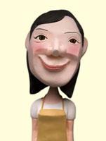 エプロン姿のママ 02374000146| 写真素材・ストックフォト・画像・イラスト素材|アマナイメージズ