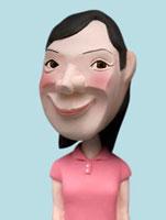 ポロシャツを着た女性 02374000147| 写真素材・ストックフォト・画像・イラスト素材|アマナイメージズ