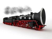 クラリネットの蒸気機関車