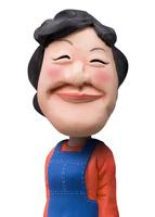 エプロン姿で微笑む女性 02374000170| 写真素材・ストックフォト・画像・イラスト素材|アマナイメージズ