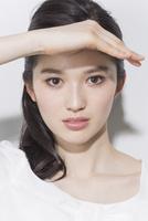 日本人女性のビューティーイメージ 02381000755| 写真素材・ストックフォト・画像・イラスト素材|アマナイメージズ