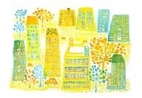 黄色の街 02390000064| 写真素材・ストックフォト・画像・イラスト素材|アマナイメージズ