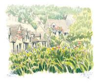 コッツウォルズの小さな村