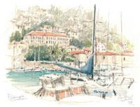 ドブロブニクの旧港 02398000082| 写真素材・ストックフォト・画像・イラスト素材|アマナイメージズ