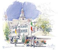 リューデスハイムの町並