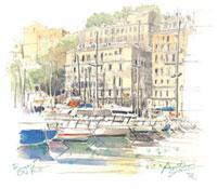 バスティアの古い港