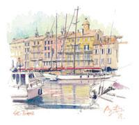 サント・ロペの港