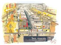 パリ北駅 02398000185| 写真素材・ストックフォト・画像・イラスト素材|アマナイメージズ