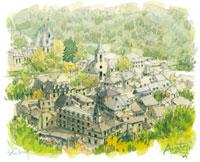 山間の小さな村デュルビュイ