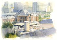 改修前の東京駅