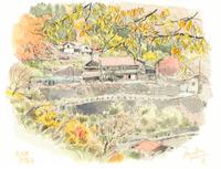 奥多摩 奥 集落 02398000648| 写真素材・ストックフォト・画像・イラスト素材|アマナイメージズ