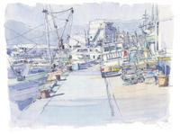 室津漁港 02398000655| 写真素材・ストックフォト・画像・イラスト素材|アマナイメージズ