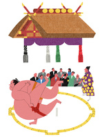 大相撲と観客