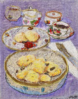 フワフワパンと紅茶