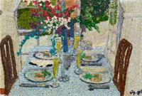 テリーヌのある食卓