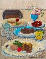 ディナーのテーブル