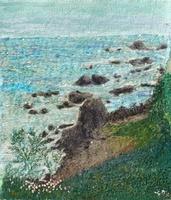 海岸と波 02404000162| 写真素材・ストックフォト・画像・イラスト素材|アマナイメージズ