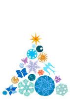 オーナメントのクリスマスツリー