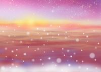 クリスマスの雪景色 02411000084| 写真素材・ストックフォト・画像・イラスト素材|アマナイメージズ