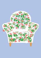 静物_氷のソファと薔薇