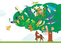 静物_生命の樹と平和な世界 02412000148| 写真素材・ストックフォト・画像・イラスト素材|アマナイメージズ