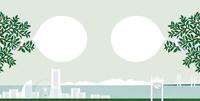 風景_海の見える街 02412000150| 写真素材・ストックフォト・画像・イラスト素材|アマナイメージズ