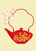 静物_屠蘇器と梅の花