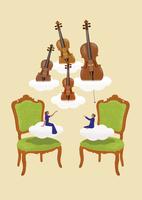 クラシック音楽と弦楽器 02412000241| 写真素材・ストックフォト・画像・イラスト素材|アマナイメージズ