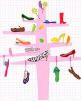 くつ 靴 クツ 02413000035| 写真素材・ストックフォト・画像・イラスト素材|アマナイメージズ