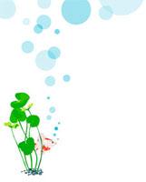 金魚と水草 02413000049| 写真素材・ストックフォト・画像・イラスト素材|アマナイメージズ