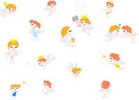 複数の天使のイメージ