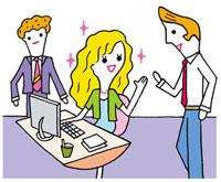 外資系会社のできる女性のイメージ