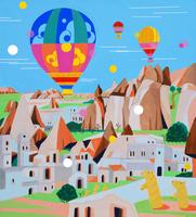 世界遺産カッパドキア岩窟群 02422000064| 写真素材・ストックフォト・画像・イラスト素材|アマナイメージズ