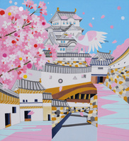 世界遺産 姫路城 02422000073| 写真素材・ストックフォト・画像・イラスト素材|アマナイメージズ