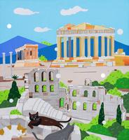 世界遺産ギリシャ アクロポリス 02422000076| 写真素材・ストックフォト・画像・イラスト素材|アマナイメージズ
