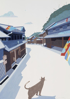 東海道 有松 02422000094| 写真素材・ストックフォト・画像・イラスト素材|アマナイメージズ