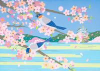 桜とお城 春 02422000132| 写真素材・ストックフォト・画像・イラスト素材|アマナイメージズ