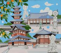 世界遺産 法隆寺地域の仏教建造物 02422000154| 写真素材・ストックフォト・画像・イラスト素材|アマナイメージズ