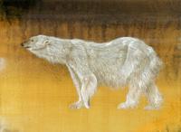 1頭のシロクマ